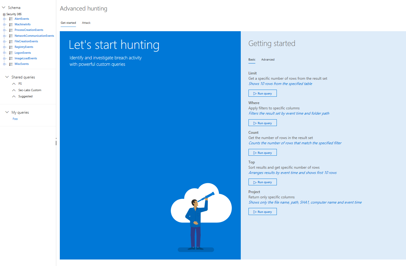 Threat Hunting with Windows Defender ATP – SEC-LABS R&D